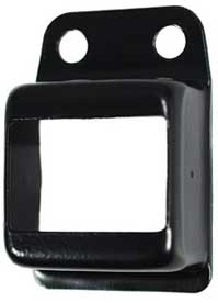 fencing bracket 25x38 colour black