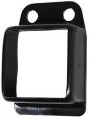40x40 fencing Bracket Black