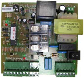 Control Board attach to a Control board of a Gate motor
