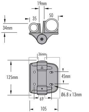 schematic drawing of TCHDRND1