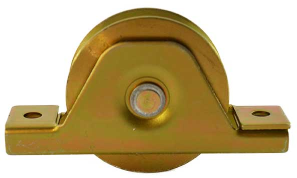 Heavy duty sliding gate wheel