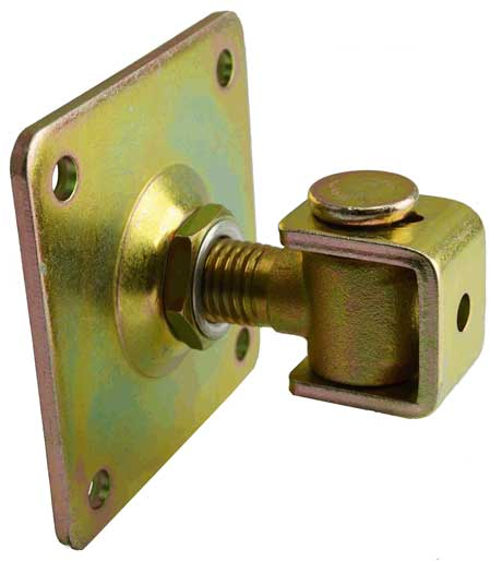 Adjustable Gate Hinges With Mounting Plate