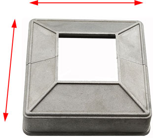 base plate cover join together