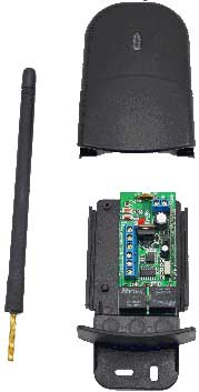 long range wireless transmitter for gates