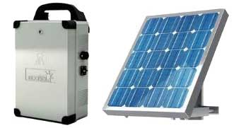 bft solar kit and solar panel