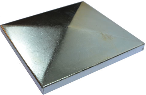steel cap 125x125mm