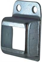 Steel Fence Rail Brackets 25x38 mm Single Lug 2 holes