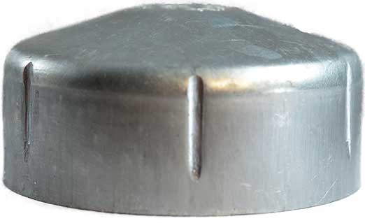 Galvabond Round End Caps 65 mm