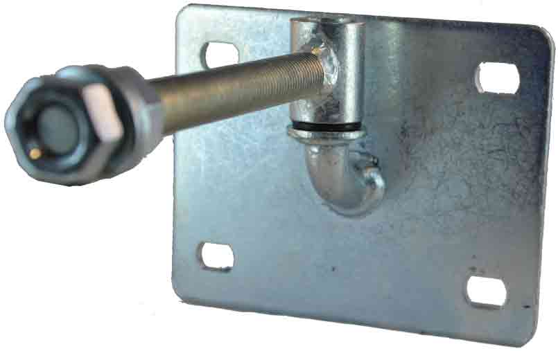 adjustable hinge with plate
