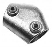 kwikclamp 40-70 deg elbow pipe connector