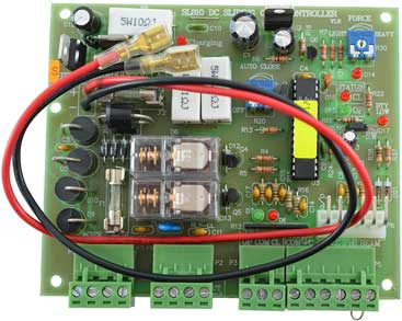 Letron SL810 Dc Control Board for sliding gate motor