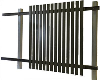 Diy fence panels aluminium fencing panels diy aluminium fencing panels solutioingenieria Images