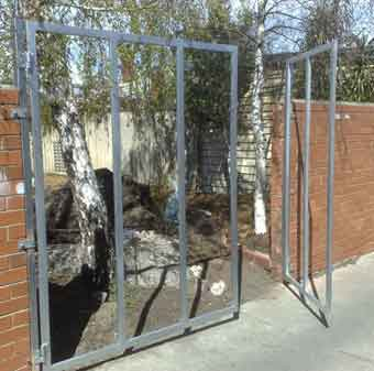 Large DIY gate frame