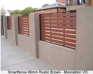 Fence with futurewood