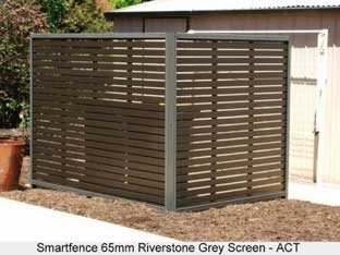 smartfence in riverstone grey in ACT