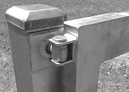 Adjustable Gate Hinges