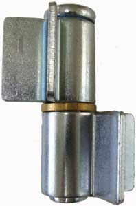 side view of a hinge