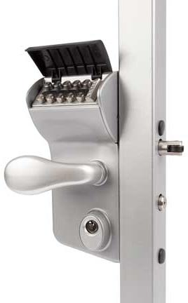 mechanical coded lock with the buttons