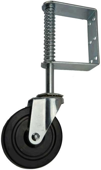large jockey wheel for heavy gates