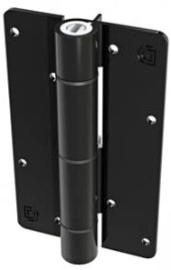 KwikFit ADJUSTABLE, SELF-CLOSING GATE HINGE - ALUMINUM (WALL/POST MOUNT)