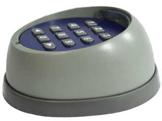 Wireless keypad for Letron Gate Motor