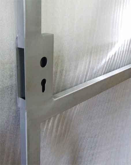 Lock Boxes for Metal Gates
