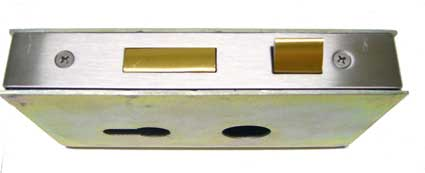 mortise lock in a lock box