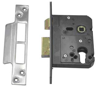 mortise lock with a 58mm set back