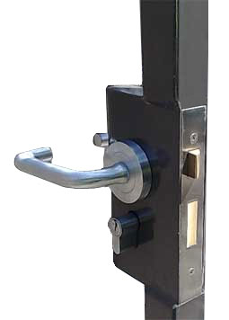 mortise lockbox lock