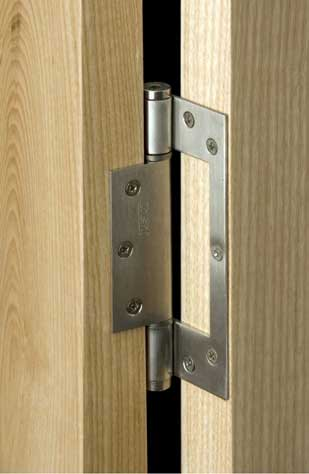 Self Closing Stainless Steel Interleaf Hinge