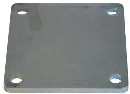 Post Base plate 100x100x5