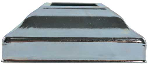 steel post base cover