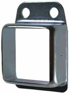 Steel Fence Rail Brackets 40x40 mm Single Lug