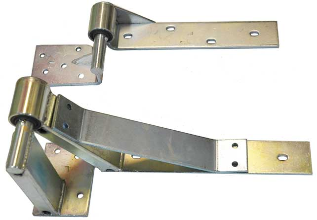 Left hand side lifting hinge type B