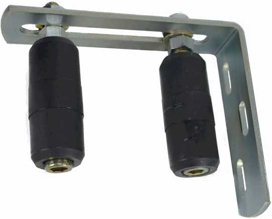 200mm bracket with rolllers