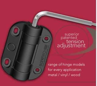 self closing hinge tension adjustment