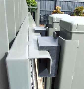 pict guide rollers on sliding gate