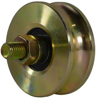 80mm single sliding gate wheel